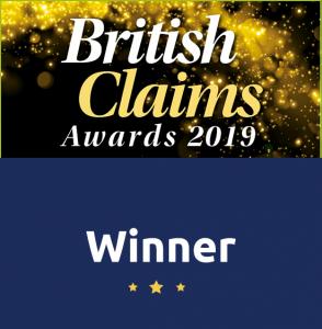 British claims award winner