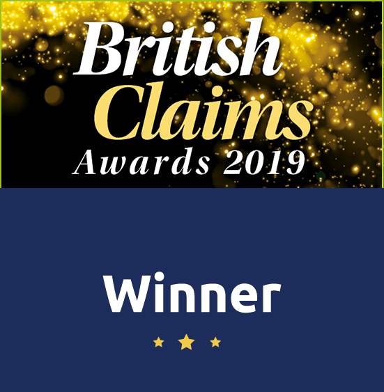 British claims award winner