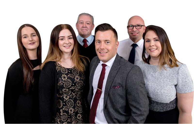 Harris Balcombe Team Group Photo
